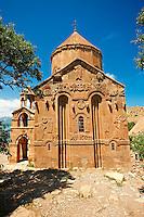 10th century Armenian Orthodox Cathedral of the Holy Cross on Akdamar Island, Lake Van Turkey 59