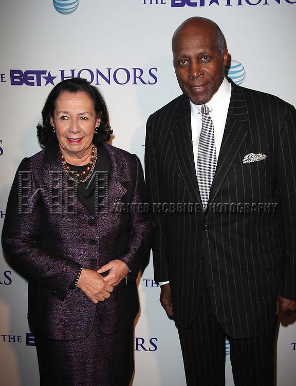 Ann Jordan & Vernon Jordan.attends the BET Honors 2012 Pre-Honors dinner at the Corcoran Gallery of Art on January 13, 2012 in Washington, DC.