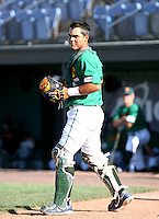 Carlos Perez / Boise Hawks..Photo by:  Bill Mitchell/Four Seam Images