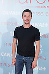 Jan Cornet poses at `Marsella´ film premiere photocall at Capital cinema in Madrid, Spain. July 17, 2014. (ALTERPHOTOS/Victor Blanco)
