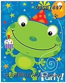Sarah, CHILDREN BOOKS, BIRTHDAY, GEBURTSTAG, CUMPLEAÑOS, paintings+++++frog-13-C,USSB447,#BI#, EVERYDAY