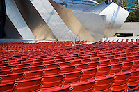 The Jay Pritzker Pavilion in Millennium Park; Chicago, IL