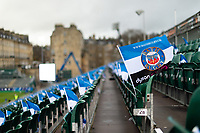A general view of Bath Rugby colours at the Rec. Heineken Champions Cup match, between Bath Rugby and Leinster Rugby on December 8, 2018 at the Recreation Ground in Bath, England. Photo by: Patrick Khachfe / Onside Images