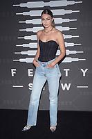 BROOKLYN, NY - SEPTEMBER 10: Gigi Hadid at Rihanna's second annual Savage X Fenty Show at Barclay's Center in Brooklyn, New York City on September 10, 2019. Credit: John Palmer/MediaPunch
