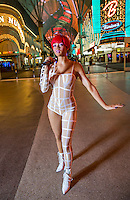 LAS VEGAS, NV - November 6 : Rihanna wax figure by Madame Tussauds pictured at Fremont Street Experience on November 12, 2012 in Las Vegas, Nevada. © Kabik/ Starlitepics /MediaPunch Inc. /NortePhoto/nortephoto@gmail.com