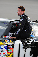 May 1, 2009; Richmond, VA, USA; NASCAR Sprint Cup Series driver Casey Mears during qualifying for the Russ Friedman 400 at the Richmond International Raceway. Mandatory Credit: Mark J. Rebilas-