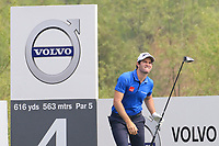 Ricardo Gouveia (POR) in action during the final round of the Volvo China Open played at Topwin Golf and Country Club, Huairou, Beijing, China 26-29 April 2018.<br /> 29/04/2018.<br /> Picture: Golffile | Phil Inglis<br /> <br /> <br /> All photo usage must carry mandatory copyright credit (&copy; Golffile | Phil Inglis)