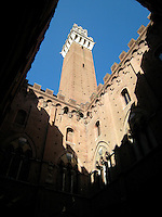 Pallazzo Publico, the town hall of Siena.