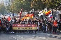 """15-10-03 Aufmarsch """"Wir für Deutschland"""""""