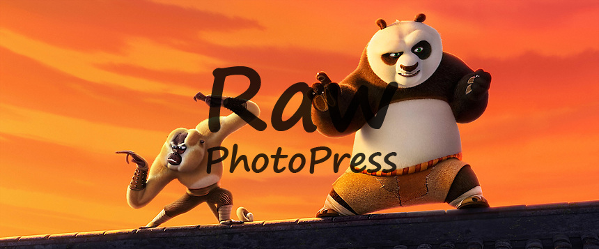 2016 Kung Fu Panda 3 Movie Set Raw Photo Press