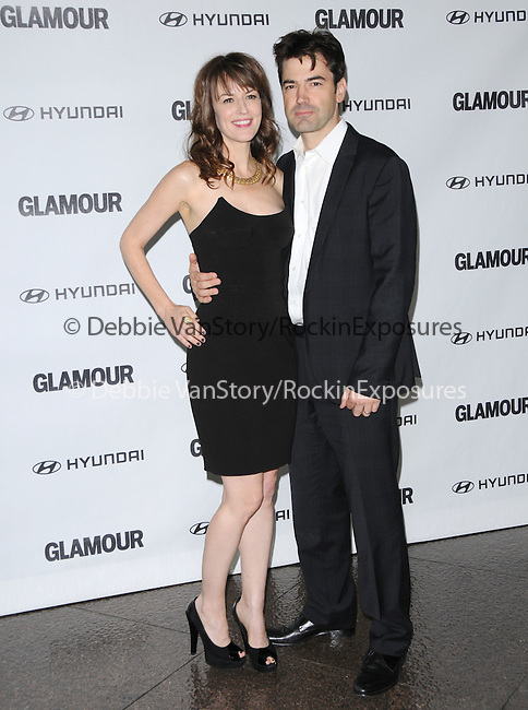 Rosemarie DeWitt and Ron Livingston at The Glamour Reel Moments Presented by Hyundai , the Series of Short Films Written and Directed by Women in Hollywood held at The Directors Guild of America in West Hollywood, California on October 25,2010                                                                               © 2010 Hollywood Press Agency