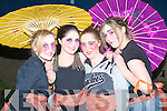 DOLLS: Shinique Purcell, Andrea Bustard, Natasha O'Callaghan and Shauna O'Sullivan who repersented KDYS Denny Street, Tralee as China Dolls for the Samhlai?ocht Easter Parade in Tralee on Easter Sunday night...