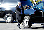 United States President Donald Trump's Chief Strategist Steve Bannon walks outside the Conservative Political Action Conference (CPAC) at National Harbor, Maryland, February 24, 2017 . <br /> Credit: Olivier Douliery / Pool via CNP