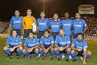 24 March 2004: San Jose Earthquakes' lineup before the game against LD Alajuelense during the CONCACAF Champions Cup at Spartan Stadium in San Jose, California.   San Jose won the game, final score: 1-0.