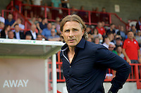 Manager Gareth Ainsworth of Wycombe Wanderers during the Sky Bet League 2 match between Crawley Town and Wycombe Wanderers at Broadfield Stadium, Crawley, England on 6 August 2016. Photo by Alan  Stanford / PRiME Media Images.
