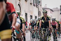 Roman Kreuziger (CZE/Mitchelton Scott) during the local lap in Iseo<br /> <br /> stage 17: Riva del Garda - Iseo (155 km)<br /> 101th Giro d'Italia 2018