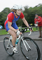 16 JUN 2007 - EDINBURGH, UK - Felicity Hart - EUROPEAN ELITE WOMENS DUATHLON CHAMPIONSHIPS. (PHOTO (C) NIGEL FARROW)
