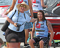 ORLANDO, FL - April 29:  Phil Kerr CDN wins the Adaptive Sitboarding Division at the WWA Nautique Wake Open 2017 at  the Orlando Watersports Complex on April 29, 2017 in Orlando, Florida. (Photo by Liz Lamont/Eclipse Sportswire/Getty Images)