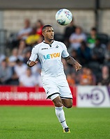 Luciano Narsingh of Swansea City during the 2017/18 Pre Season Friendly match between Barnet and Swansea City at The Hive, London, England on 12 July 2017. Photo by Andy Rowland.