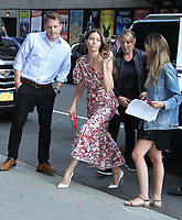 Jessica Biel at the Late Show with Stephen Colbert