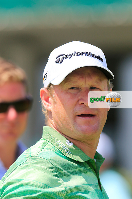 Jamie Donaldson (WAL) on the 9th green during Wednesday's Practice Day of the 2016 U.S. Open Championship held at Oakmont Country Club, Oakmont, Pittsburgh, Pennsylvania, United States of America. 15th June 2016.<br /> Picture: Eoin Clarke | Golffile<br /> <br /> <br /> All photos usage must carry mandatory copyright credit (&copy; Golffile | Eoin Clarke)