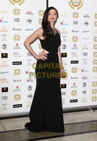 Tatjana Nardone at the National Film Awards at the Porchester Hall, London on  Wednesday 28 March 2018 <br /> CAP/ROS<br /> &copy;ROS/Capital Pictures