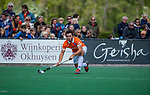 BLOEMENDAAL -  Arthur van Doren (Bldaal)   tijdens de hoofdklasse competitiewedstrijd hockey heren,  Bloemendaal-Den Bosch  COPYRIGHT KOEN SUYK