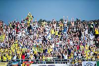VALENCIA, SPAIN - NOVEMBER 8: Fans during Valencia MotoGP 2015 at Ricardo Tormo Circuit on November 8, 2015 in Valencia, Spain