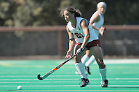 Stanford, CA - SEPTEMBER 27:  Defender Rachel Bush #21 of the Stanford Cardinal during Stanford's 7-0 win over the Pacific Tigers on September 27, 2008 at the Varsity Field Hockey Turf in Stanford, California.