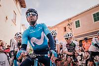Alejandro Valverde (ESP/Movistar) pre-race<br /> <br /> 27th Challenge Ciclista Mallorca 2018<br /> Trofeo Campos-Porreres-Felanitx-Ses Salines: 176km