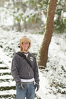 Snow Day at Volunteer Park in Seattle, Washington on Monday, Nov. 22, 2010.