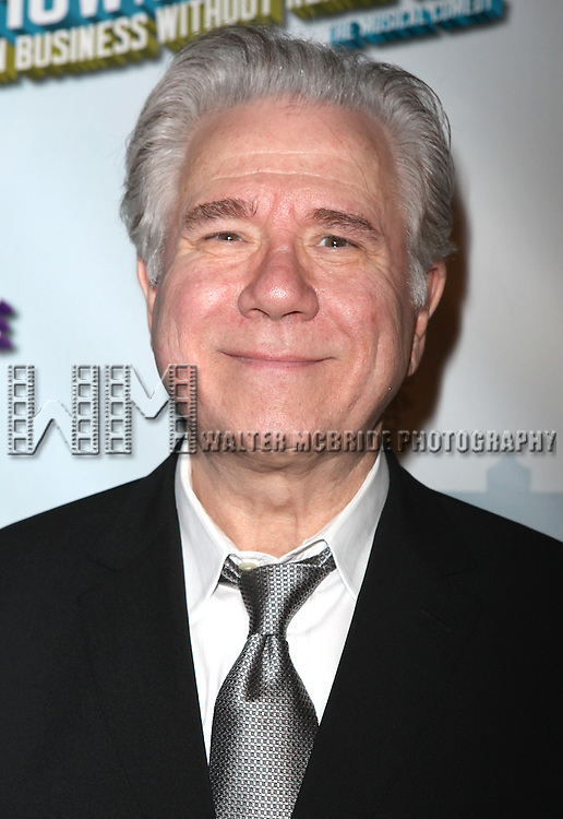 John Larroquette.attending the Opening Night Performance After Party for  'How To Succeed In Business...' in New York City.