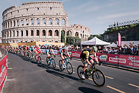 Jack Haig (AUS/Mitchelton Scott) rolling in front of the Colosseum<br /> <br /> stage 21: Roma - Roma (115km)<br /> 101th Giro d'Italia 2018