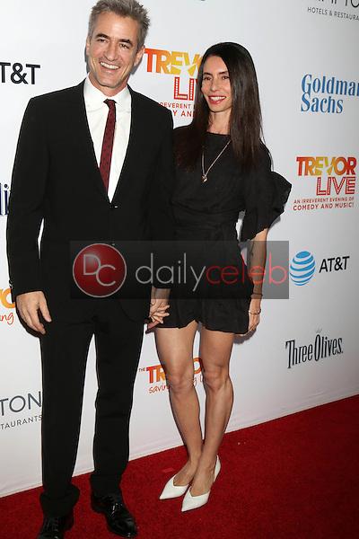 Dermot Mulroney, Tharita Cesaroni<br /> at the TrevorLIVE Los Angeles 2016, Beverly Hilton Hotel, Beverly Hills, CA 12-04-16<br /> David Edwards/DailyCeleb.com 818-249-4998