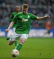 FUSSBALL   1. BUNDESLIGA   SAISON 2012/2013    30. SPIELTAG SV Werder Bremen - VfL Wolfsburg                          20.04.2013 Kevin De Bruyne (SV Werder Bremen)