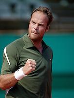 16-4-07, Monaco,Master Series Monte Carlo, Verkerk zoals we hem kennen,pept zich op met een vuist