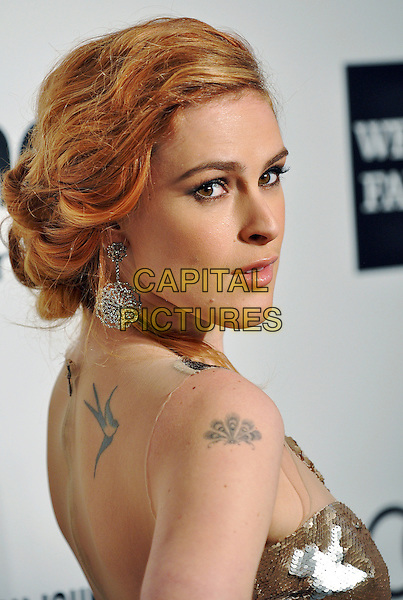02 March 2014 - West Hollywood, California - Rumer Willis. 22nd Annual Elton John Academy Awards Viewing Party held at West Hollywood Park.  <br /> CAP/ADM/CC<br /> &copy;ChewAdMedia/Capital Pictures