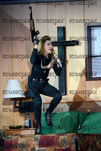 MADONNA performing live on the MDNA Tour in Hyde Park London UK -17 July 2012.  Photo credit: George Chin/IconicPix