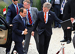 Egyptian President Abdel Fattah al-Sisi attends at the G20 Africa partnership conference in Berlin on June 12, 2017. Photo by Egyptian President Office