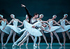 London, UK. 27.07.2017. The Mariinsky Ballet dances 'Swan Lake' at the Royal Opera House, 27 July - 7 August 2017. Picture shows: Xander Parish, Viktoria Tereshkina & artists of the company.  : Photo - © Foteini Christofilopoulou.