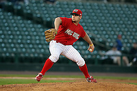 June 20th 2008:  Pitcher Ryan Kulik (24) of the Batavia Muckdogs, Class-A affiliate of the St. Louis Cardinals, during a game at Frontier Field in Rochester, NY - home of the Rochester Red Wings.  Photo by:  Mike Janes/Four Seam Images