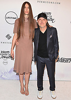 BEVERLY HILLS- OCTOBER 13:  Lars Ulrich and Jessica Miller at Variety's Power of Women: Los Angeles at Beverly Wilshire Four Seasons Hotel on October 13, 2017 in Beverly Hills, California. (Photo by Scott Kirkland/PictureGroup)