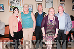 Set Dancing : Attending the Set dancing ceile at the Ceolan Centre, Lixnaw on Friday night last were Anne Marie Walsh, Marie Houlihan, Jerry Mccarthy & Nireen & John O'Connell.