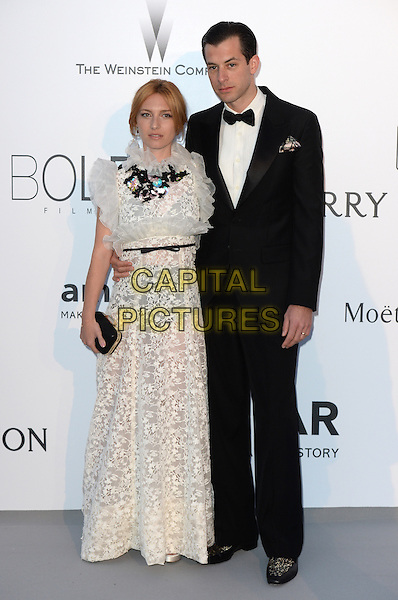 Josephine de La Baume and Mark Ronson - arrivals at amfAR&rsquo;s Cinema Agains Aids Gala at Hotel du Cap, Antibes during the Cannes Film Festival on May 21, 2015 in Cap d'Antibes, France.<br /> CAP/CAS<br /> &copy;Bob Cass/Capital Pictures