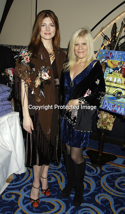 """Connie Fletcher and Ilene Kristen ..at """" An Intimate Evening with Your Favorite Daytime and Broadway Stars"""" benefitting The Jane Elissa/ Charlotte Meyers Endowment Fund for Leukemia/Lymphoma Research on October 24, 2005 at The Marriott Marquis Hotel. ..Photo by Robin Platzer, Twin Images"""