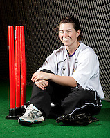 07 OCT 2009 - LOUGHBOROUGH, GBR - Wicketkeeper Tamsin Beaumont from Sandwich, Kent who has been selected for the England Womens Cricket team for their tour of the West Indies at the age of 18 years old (PHOTO (C) NIGEL FARROW)