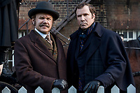 SHERLOCK HOLMES (Will Ferrell) and WATSON (John C. Reilly) in Holmes &amp; Watson (2018) <br /> *Filmstill - Editorial Use Only*<br /> CAP/RFS<br /> Image supplied by Capital Pictures