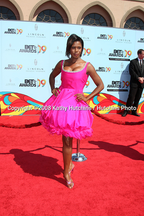 Omarosa Manigault-Stallworth arriving at  the BET Awards 2009 at the Shrine Auditorium in Los Angeles, CA on June 28, 2009.©2008 Kathy Hutchins / Hutchins Photo..
