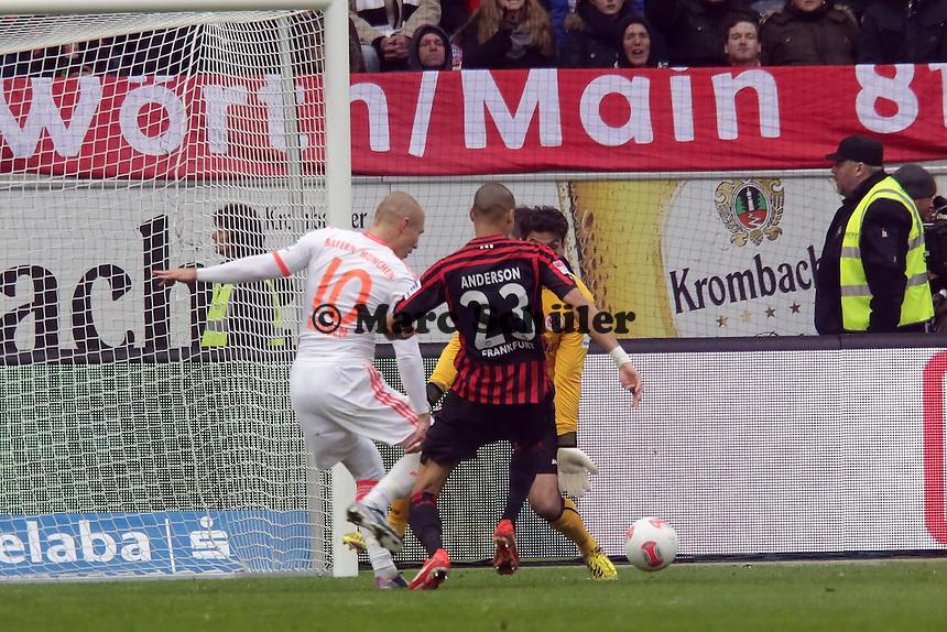 Chance fuer Arjen Robben (Bayern)