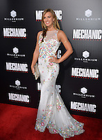 LOS ANGELES, CA. August 22, 2016: Actress Natalie Burn at the Los Angeles premiere of &quot;Mechanic: Resurrection&quot; at the Arclight Theatre, Hollywood.<br /> Picture: Paul Smith / Featureflash